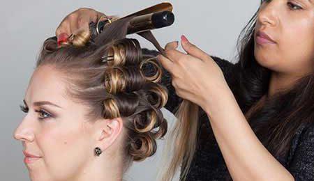 فر کردن مو در خانه